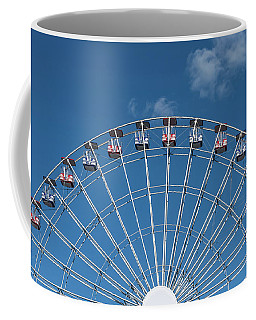 Rise Up Ferris Wheel In The Clouds Seaside Nj Coffee Mug by Terry DeLuco