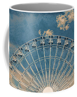 Rise Up Ferris Wheel In The Clouds Coffee Mug by Terry DeLuco