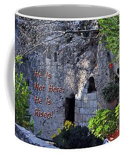 Risen Coffee Mug by Lydia Holly