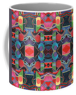 Rising Above And Synergy 4 Coffee Mug by Helena Tiainen