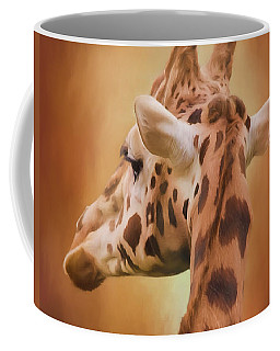 Rising Above - Giraffe Art Coffee Mug