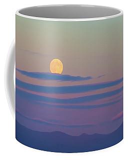 Rising Harvest Moon  Coffee Mug