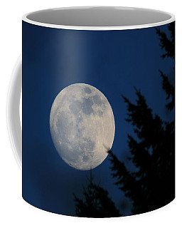Rising High And Almost Full Coffee Mug by Laddie Halupa