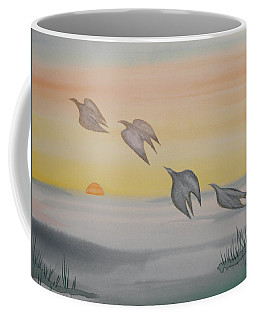 Coffee Mug featuring the painting Rising by Michele Myers