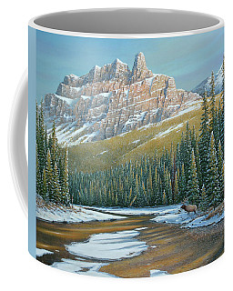 Rising Over The Valley Coffee Mug