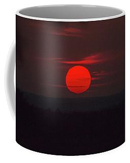 Rising Sun In Texas Coffee Mug