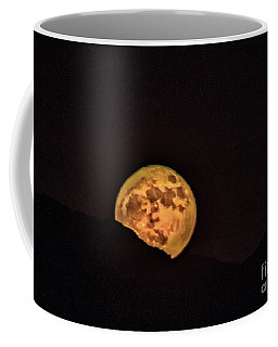 Coffee Mug featuring the photograph Rising Supermoon by Robert Bales