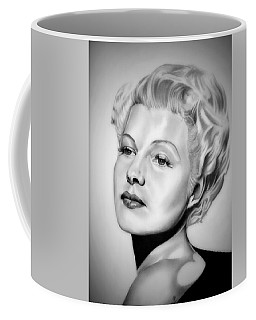 Rita Hayworth Coffee Mug