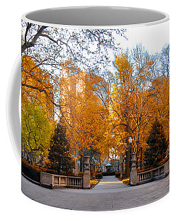 Coffee Mug featuring the photograph Rittenhouse Square Philadelphia Pa by Bill Cannon