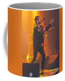 Coffee Mug featuring the photograph Rival Sons Jay Buchanan by Jeepee Aero