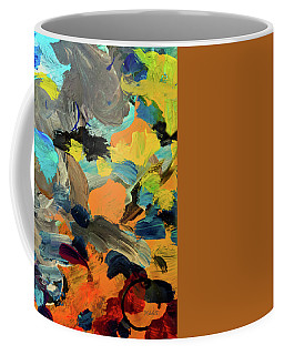 Cold River Abstract Coffee Mug