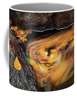 River Autumn Cycle Coffee Mug