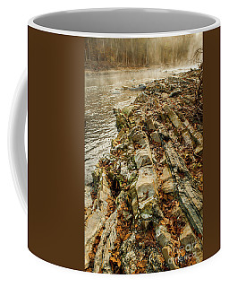 Coffee Mug featuring the photograph River Bank by Iris Greenwell