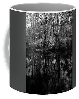 Coffee Mug featuring the photograph River Bank Palmetto by Marvin Spates
