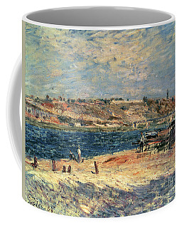 River Banks At Saint-mammes Coffee Mug