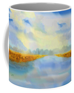 River Blue Coffee Mug