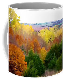 River Bottom In Autumn Coffee Mug