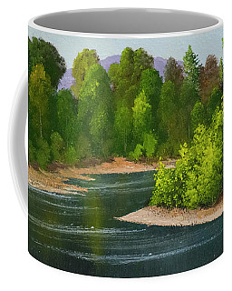 River Confluence Coffee Mug