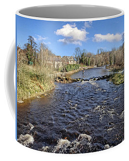 River Drowse At Kinlough, Leitrim - One Of The Best Trout And Salmon Fishing Rivers In Ireland Coffee Mug