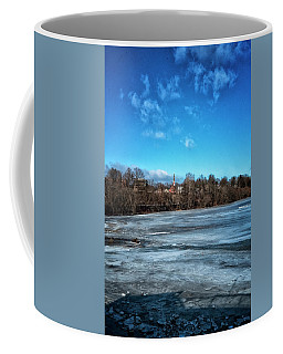 River Ice Coffee Mug