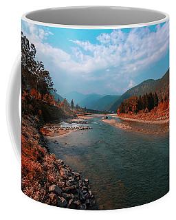River In The Kingdom Of Happiness Coffee Mug