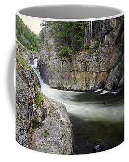River In The Rockies Coffee Mug