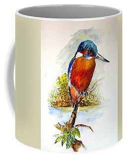 River Kingfisher Coffee Mug