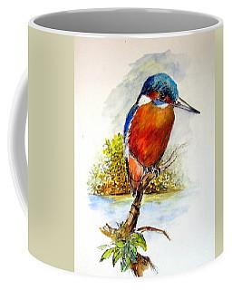 River Kingfisher Coffee Mug