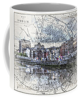 River Liffey Dublin Coffee Mug