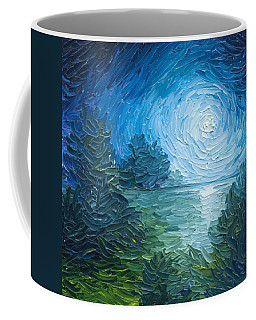 River Moon Coffee Mug by James Christopher Hill
