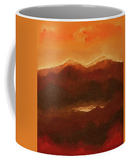 River Mountain View Coffee Mug