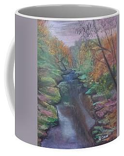 River In The Fall Coffee Mug