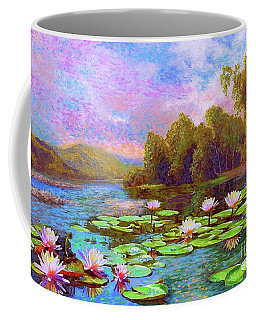 The Wonder Of Water Lilies Coffee Mug
