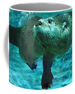 River Otter Coffee Mug by Steve Karol