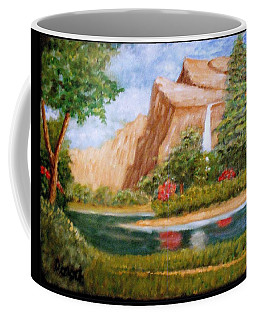 River Descending Coffee Mug