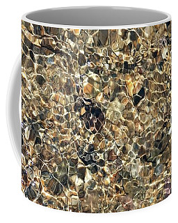 River Reflections Tan Coffee Mug