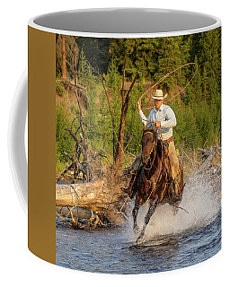 Coffee Mug featuring the photograph River Roper by Jack Bell