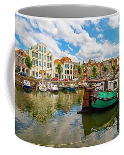 River Scene In Rotterdam Coffee Mug