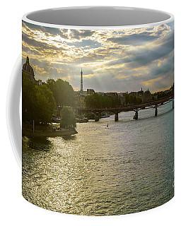 River Seine At Dusk Coffee Mug