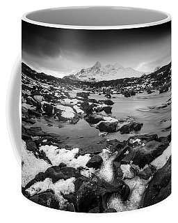 River Sligachan And Black Cuillin, Isle Of Skye Coffee Mug