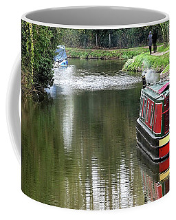 Coffee Mug featuring the photograph River Stort In April by Gill Billington