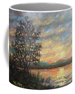 River Sundown Coffee Mug