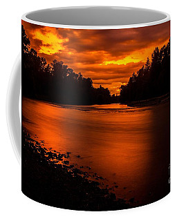 River Sunset 2 Coffee Mug