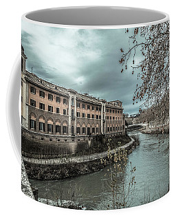 River Tiber Coffee Mug by Sergey Simanovsky