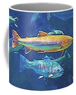 River Trout Coffee Mug