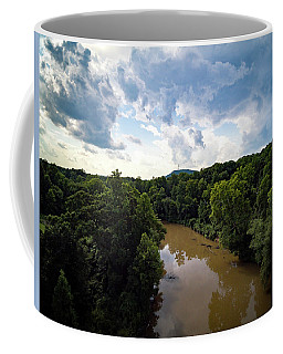 River View From Above Coffee Mug
