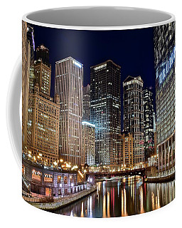 River View Of The Windy City Coffee Mug