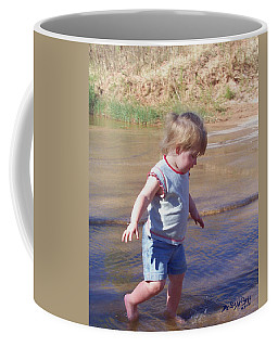 River Wading Coffee Mug