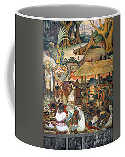 Rivera: Pre-columbian Life Coffee Mug