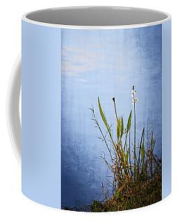 Coffee Mug featuring the photograph Riverbank Beauty by Carolyn Marshall